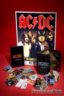 AC/DC: Plug Me In. Collector's Edition (3 DVD)
