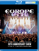 Europe – The Final Countdown 30th Anniversary Show - Live At The Roundhouse - Blu-ray - BD-R