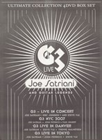 Joe Satriani and Guitar Legends (4DVD) - DVD - Коллекционное