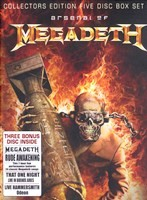 Megadeth - Arsenal of (5DVD) - DVD - Коллекционное