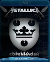 Metallica ‎– Fan Can Six Copenhagen - Blu-ray - BD-R