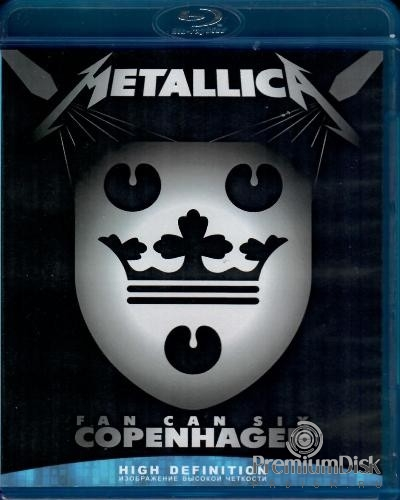 Metallica ‎– Fan Can Six Copenhagen