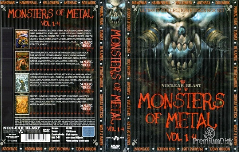 Monsters of Metal Vol. 1-4