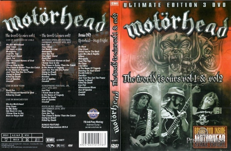 Motorhead - The World Is Ours - Vol 1 & 2