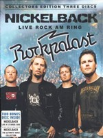 Nickelback - Live Rock Am Ring (3DVD) - DVD - Коллекционное