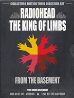 Radiohead - The King Of Limbs (3DVD) - DVD - Коллекционное