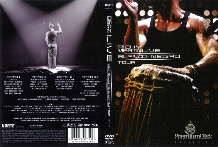Ricky Martin... Live Black & White Tour