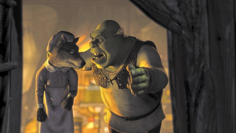 does director shrek convey morals audience