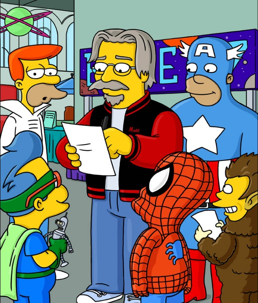 the simpsons by matt groening became the highest rated show in a short span of time #224 on imdb top rated all the characters have become more fully used as time has there ever quite been a show like the simpsons i think not matt groening.