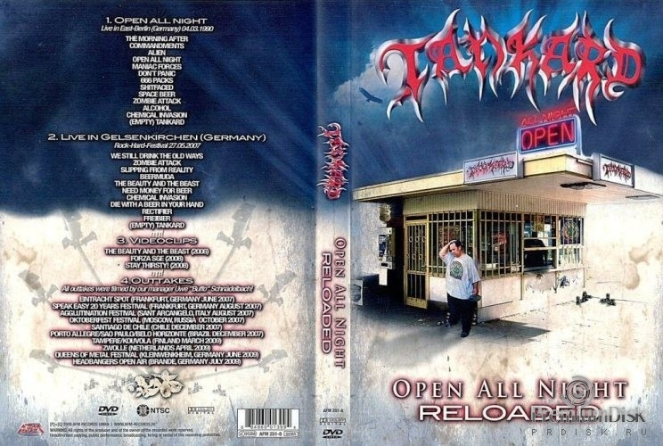 Tankard – Open All Night Reloaded