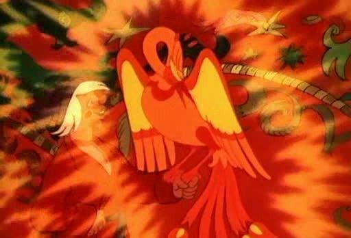 конёк-горбунок картинки жар птица